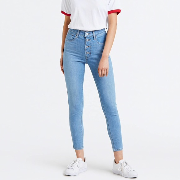 003e3b4c4e5fb Levi s Denim - Levi s mile high super skinny ankle jeans - 26